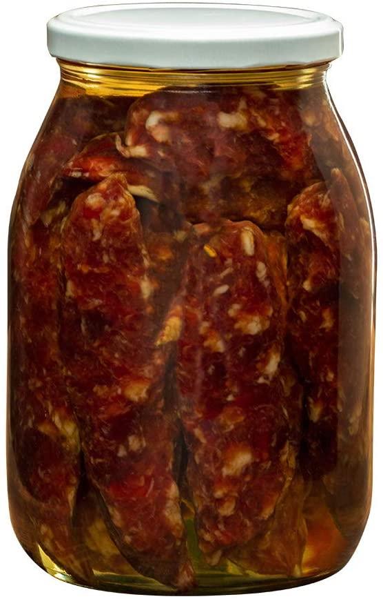 Salsicce sott'olio abruzzesi